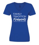 Family Fireworks Tradition - Womens Shirt
