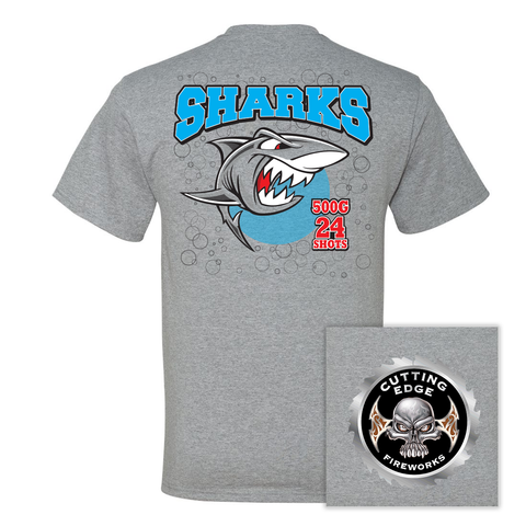 Cutting Edge Sharks TShirt