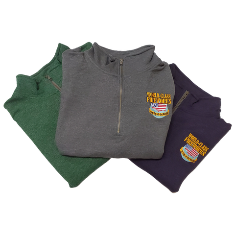 World Class Fireworks Quarter Zip - Solid Colors