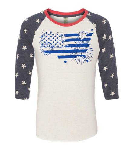 Made in the USA 3/4 Sleeve Shirt