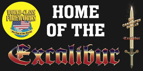 Home Of Excalibur Banner 4'x8'