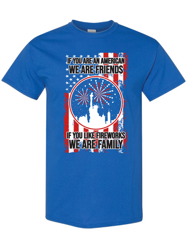 We Are Family If Tshirt