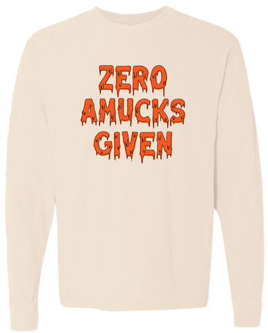 Zero Amucks Given