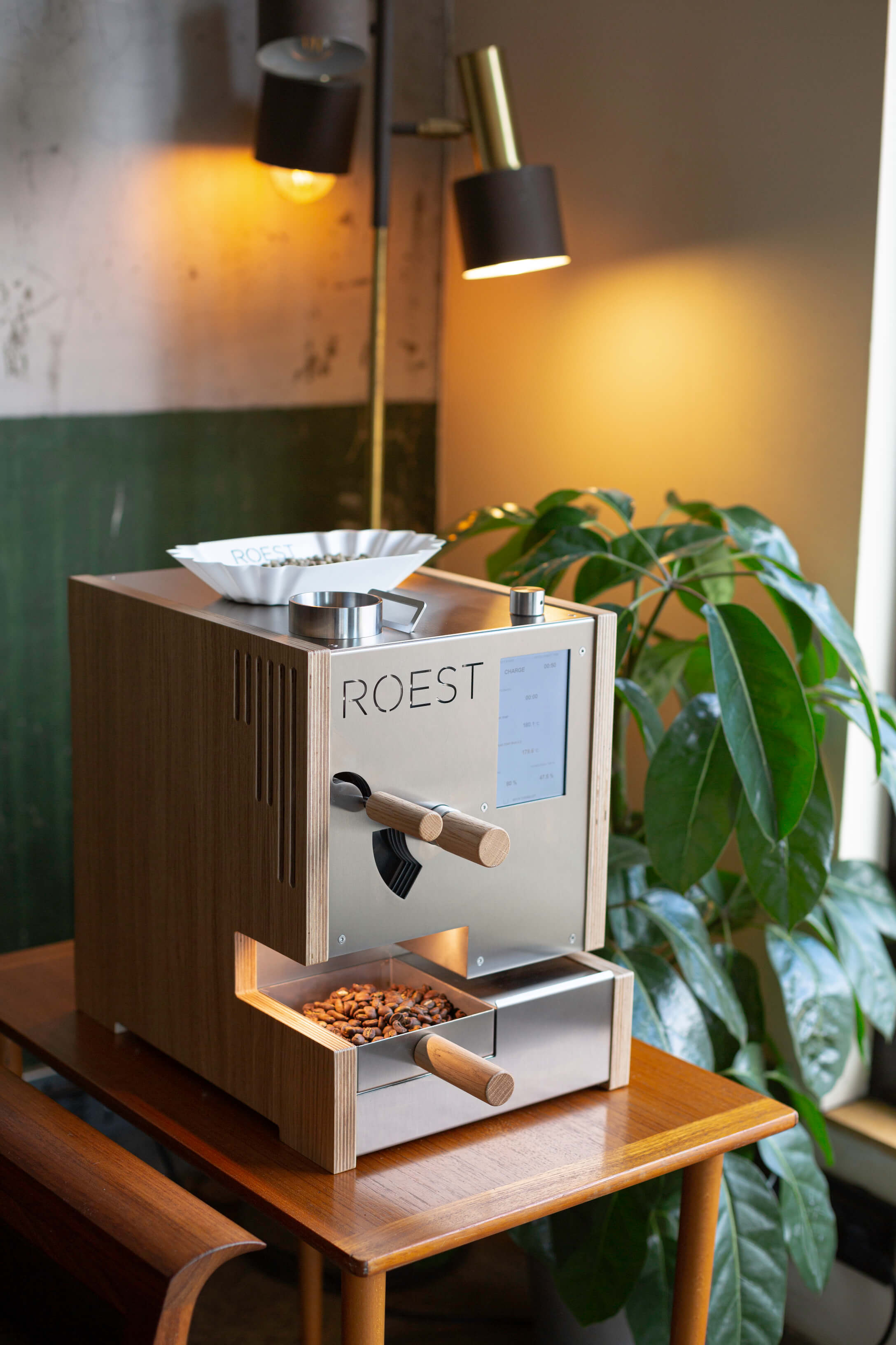 Standart Magazine - collaboration with Roest coffee
