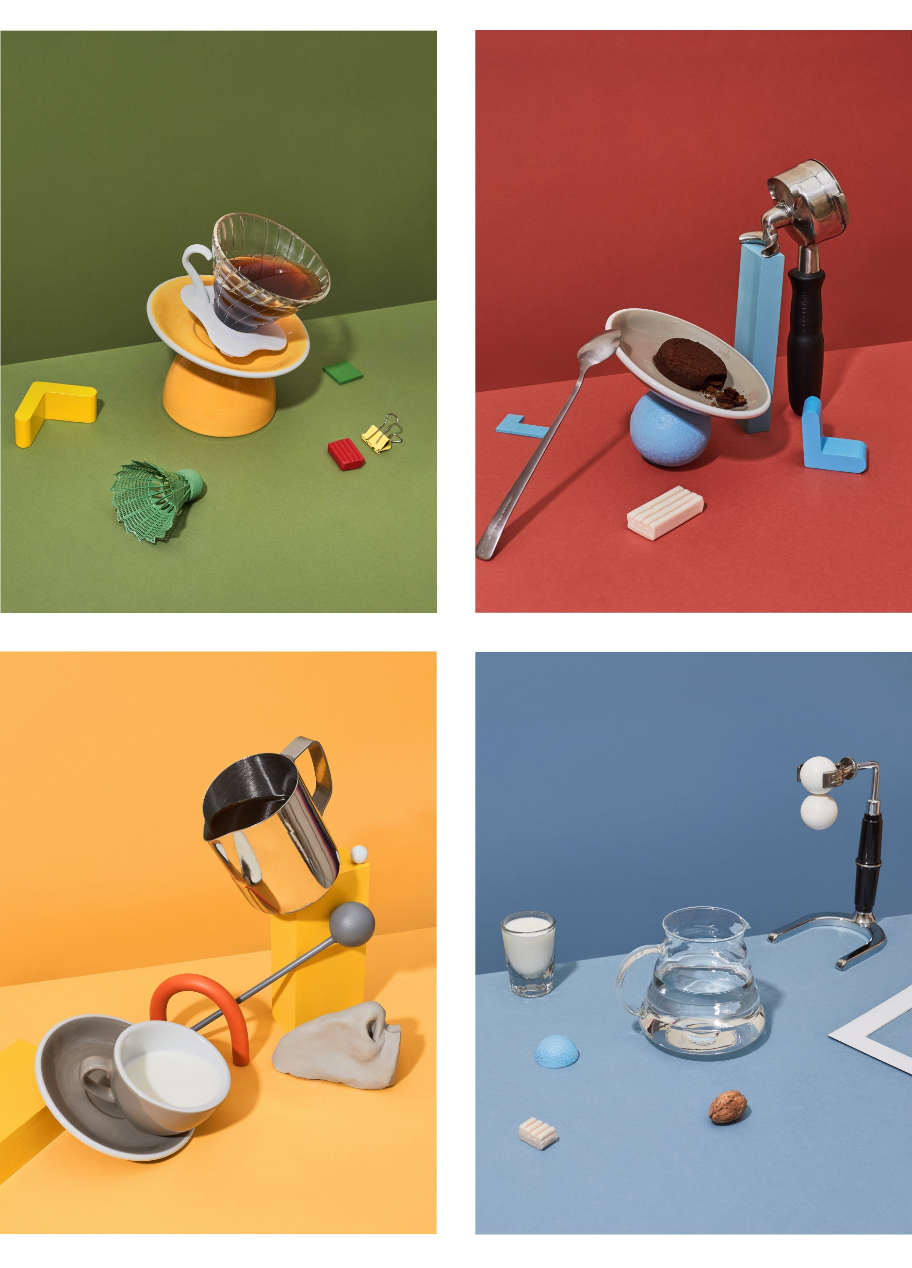 Photo-series of coffee making equipment for the cover of Standart magazine, 2019 Best Coffee Magazine