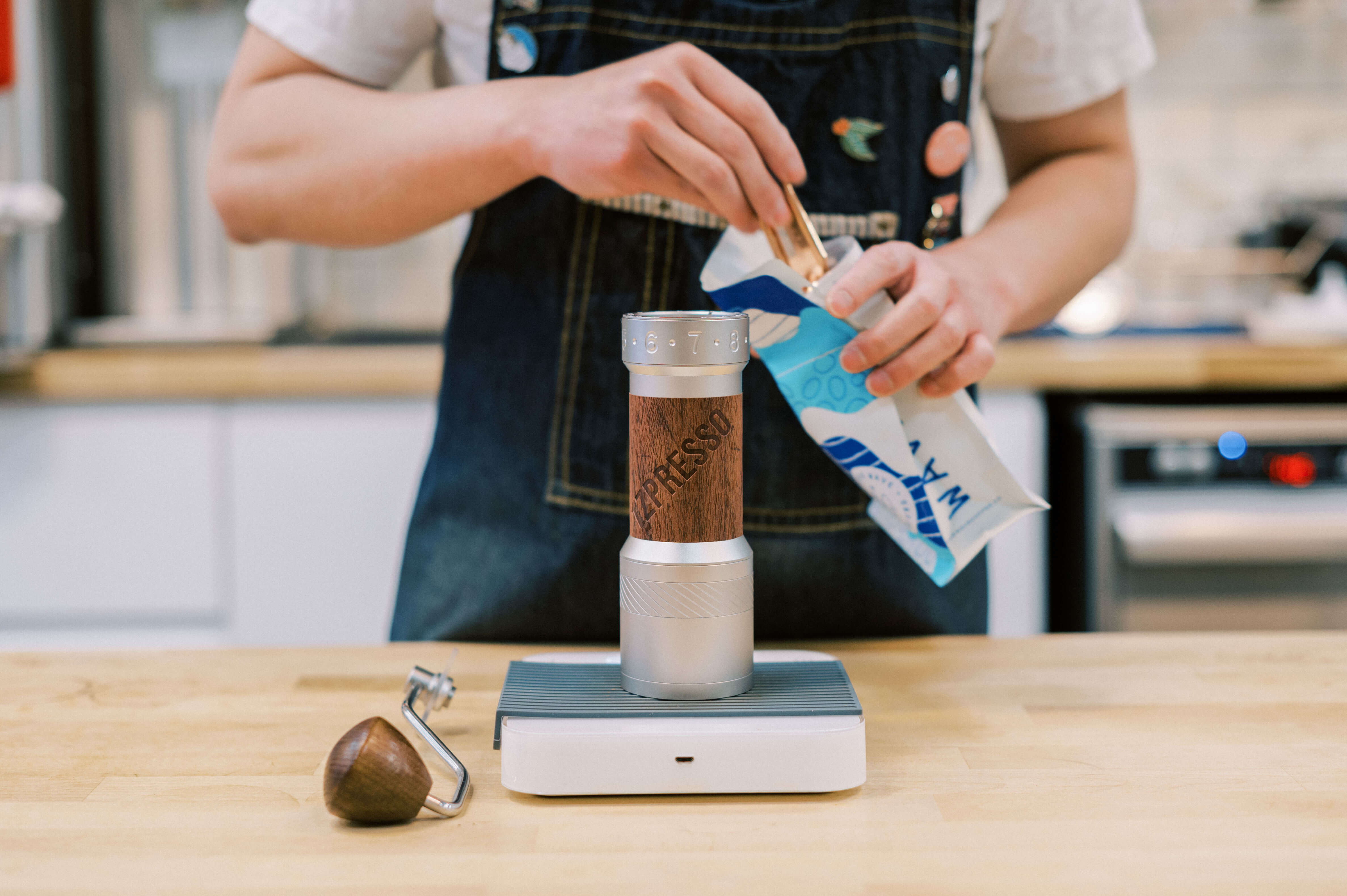 Standart Magazine - specialty coffee grinder collaboration