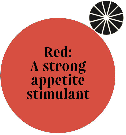 Red is an appetite stimulant