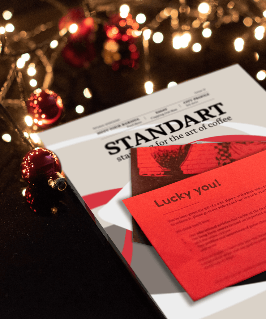 Redeem Your Gift Subscription - Standart Magazine