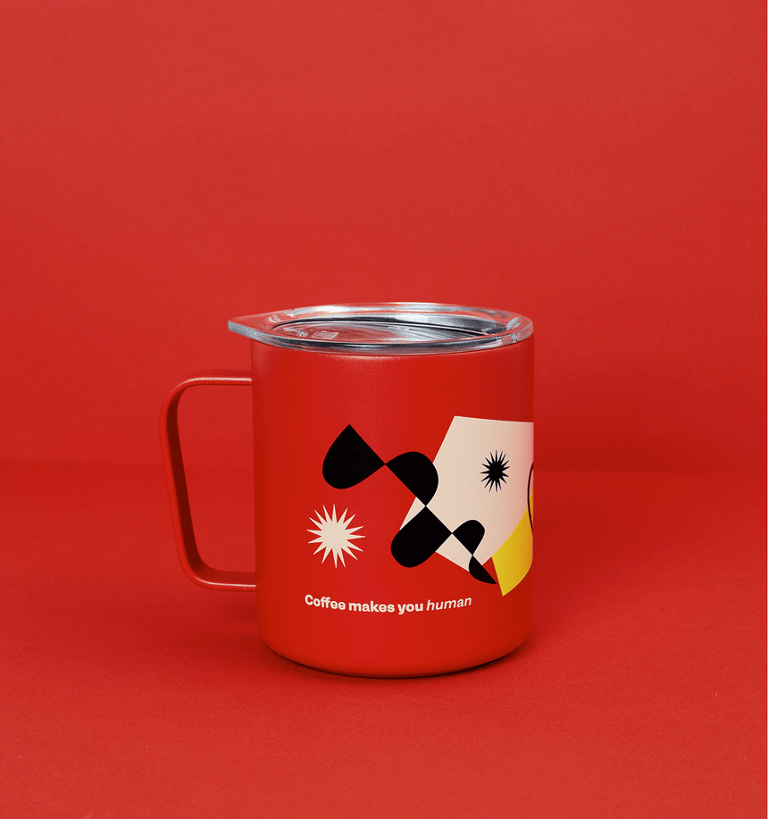 Red Mystery Brew Standart Camp Cup Set
