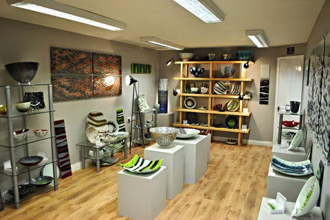 Craft Fusion art glass showroom