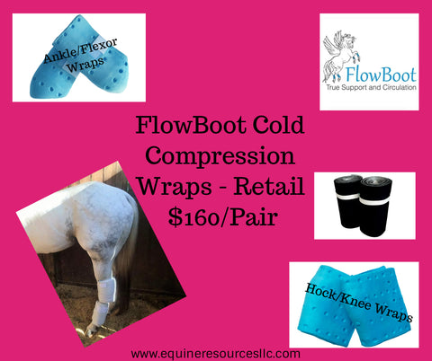 FlowBoot Cold Compression - Pair