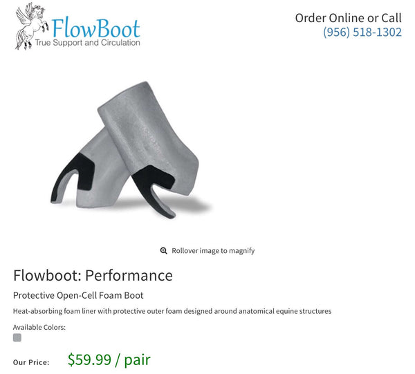 FlowBoot Performance Inserts - Pair