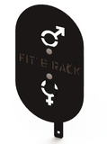 FIT AND RACK - Cible wall ball homme femme