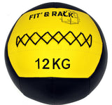 FIT AND RACK - wall ball 12kg competition