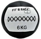 FIT AND RACK - wall ball 6kg competition