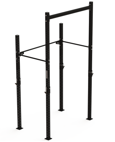 FIT AND RACK - Rack collectif corde et anneaux