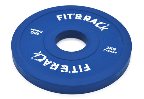 FIT AND RACK - Poids additionnels compétition 2kg