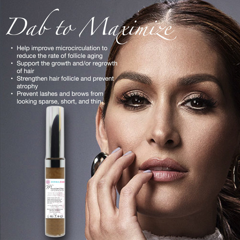 Dab to Maximize is a powerful hair strengthening serum that contains actives known to help promote hair growth, both in men and women.