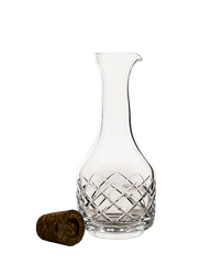 "CRYSTAL CARAFE ""Japanese Pattern 
