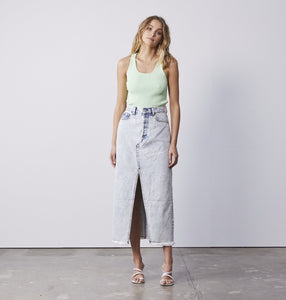 Boyfriend Denim Skirt 90s wash