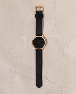 The Mini Original - Rose Gold/ Black Band Rose Gold/ Black Band