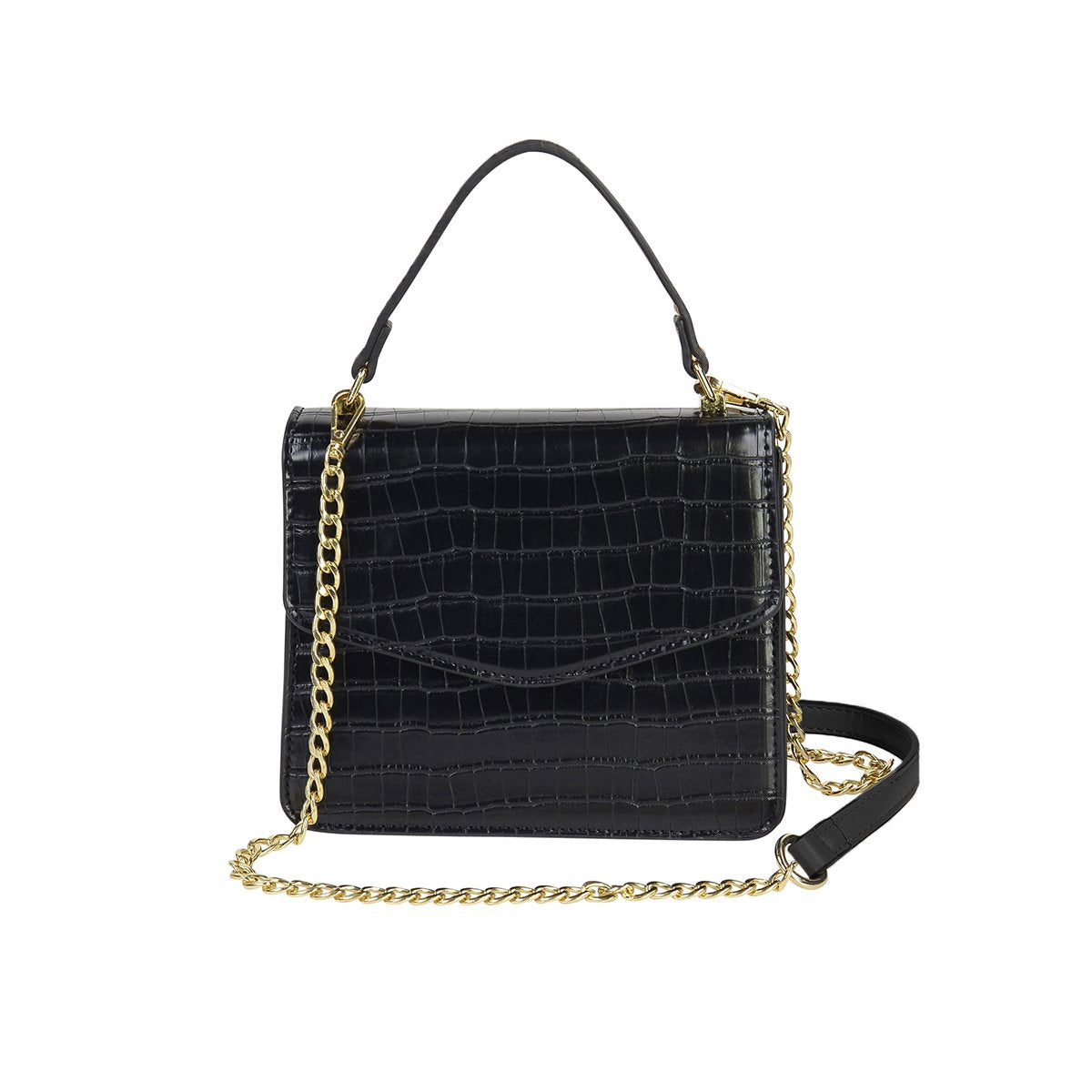 Small Square Bag - Black
