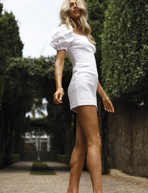 Ardor Sleeve Dress - Ivory