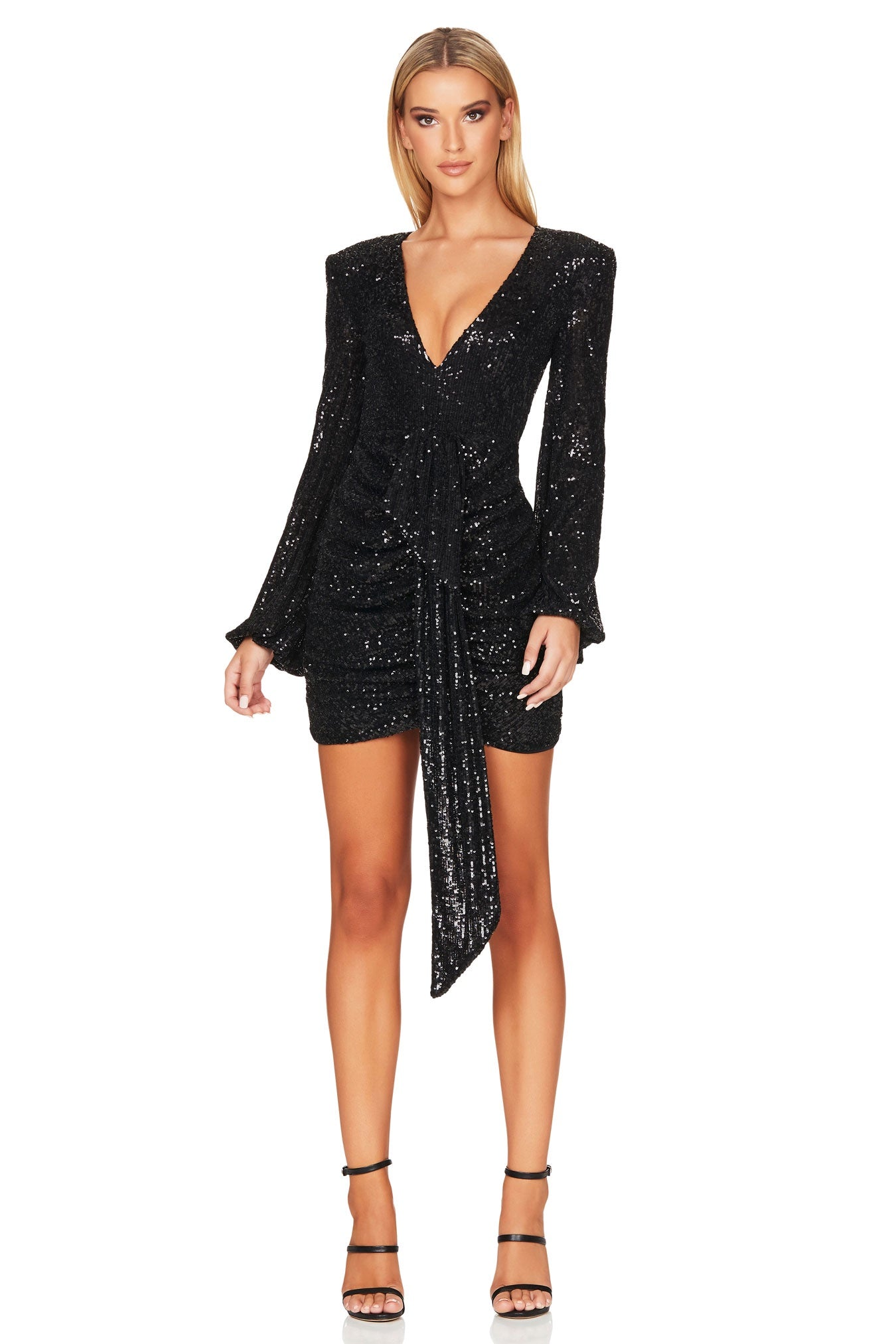 Sierra Sequin Mini - Black