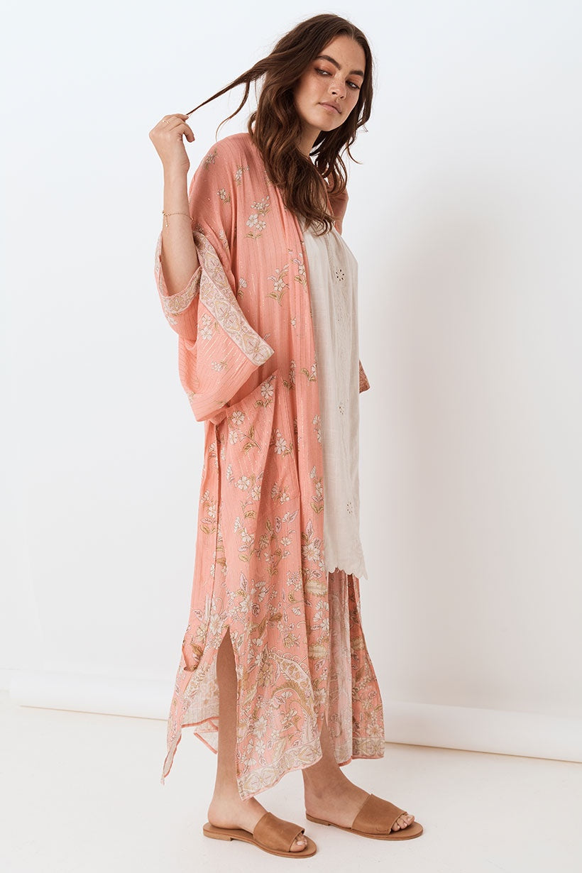 Hendrix Robe - Dusty Pink