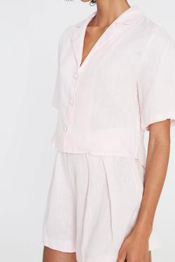 Chaumont Shirt - Ice Pink