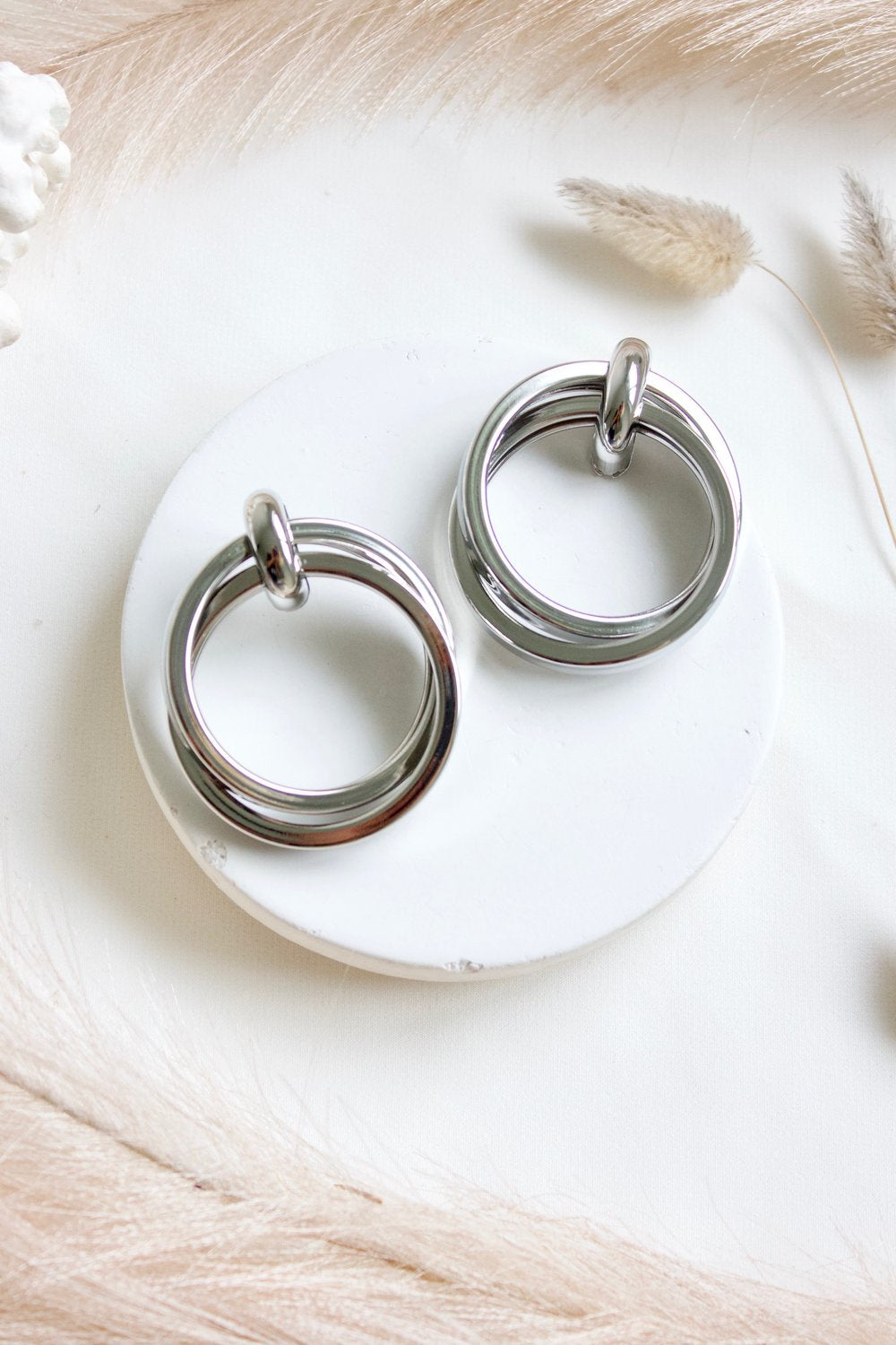 Dulcie Earrings - Silver