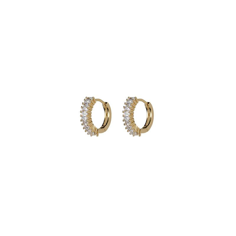Pillar Earrings - Gold