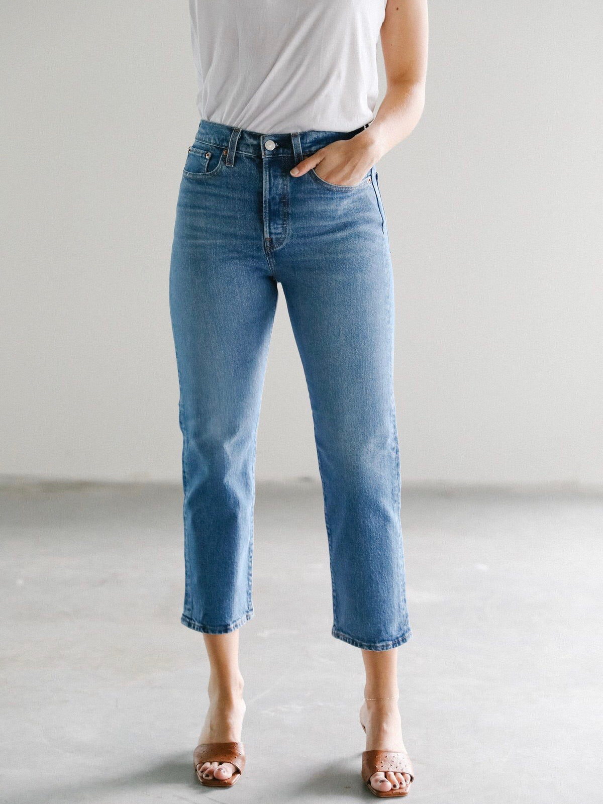 Wedgie straight jive sound Jeans