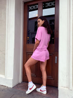 Sakura Knit Shorts - Pink