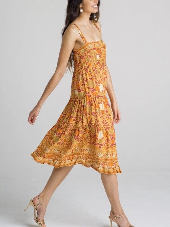 Zara Dress - Spanish Marmalade