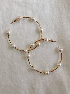 Portia Hoop Earrings