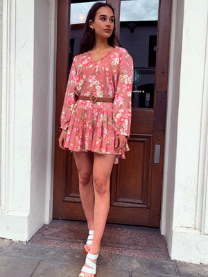 Desert Rose Babydoll Dress