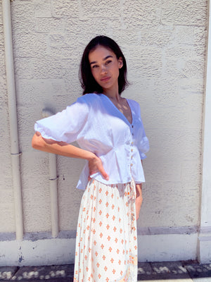 Valerie Blouse - White