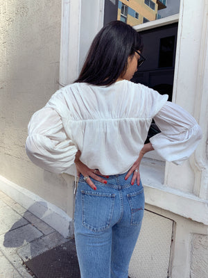 Isabel Top - Ivory