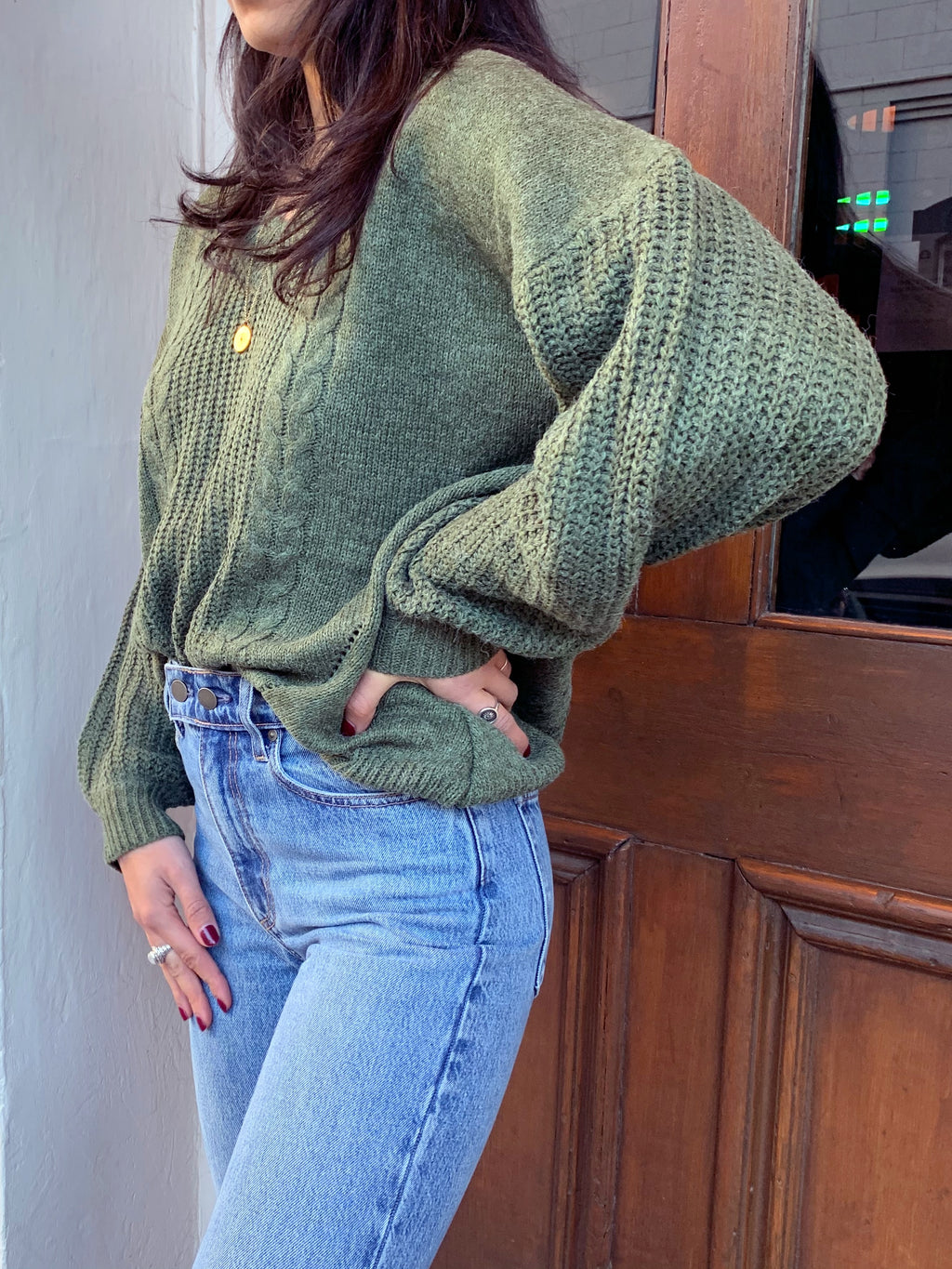 Ever Green Knit