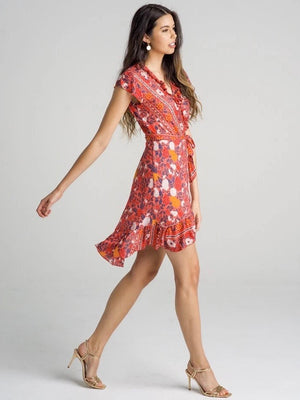 Savannah Dress - San Sebastián Rose