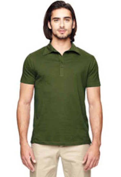 100% Organic Cotton Jersey Polo Shirt-TSW-JetSet
