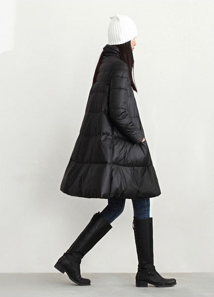 new winter coats cloak type large-size high-quality wild warm down jackets for women-JetSet-JetSet