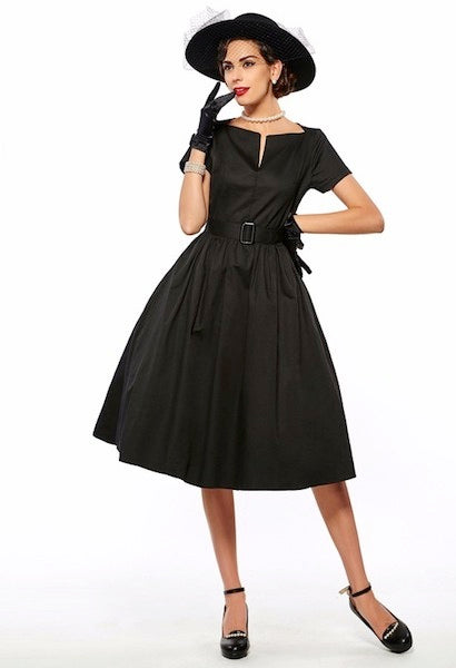 Retro Vintage Ball Gown Dress-Alessio Eno-JetSet