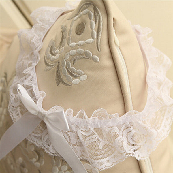 Hot Selling 1Pc Sexy Women Wedding Party Bridal Lace Floral Bow Bowknot Garter Belt Leg Ring-JetSet-JetSet