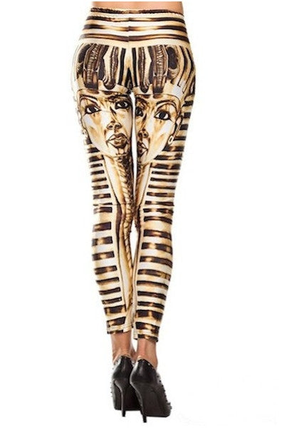 2017 New Pants Cotton Stretch Pant Elastic Egyptian Printed Stretch Leggings Pencil Pants-Alessio Eno-JetSet