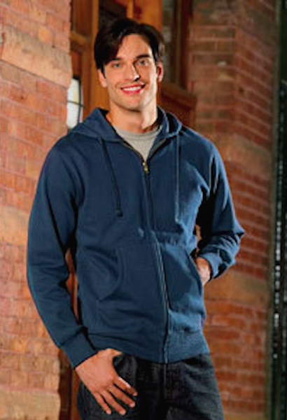 Men's Organic/Recycled Full-Zip Hoodie-TSW-JetSet