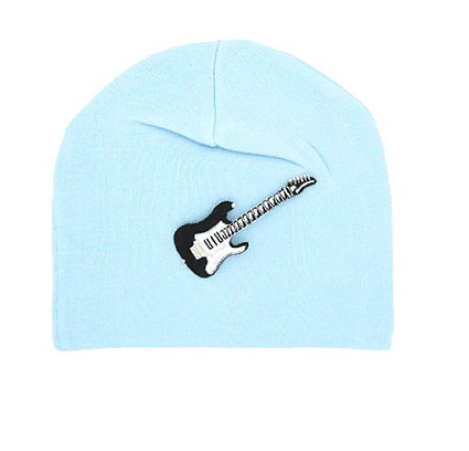 BABY BLUE APPLIQUE HAT-Jamie Rae Hats-JetSet