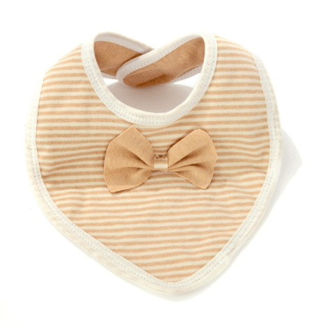 Double Layers Natural Organic Cotton Baby Bibs-AE-JetSet