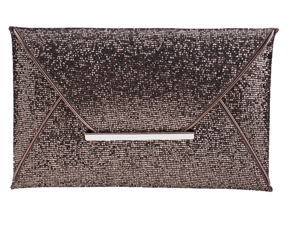 Elegant Sequins Evening Envelope Bag-WSB-JetSet